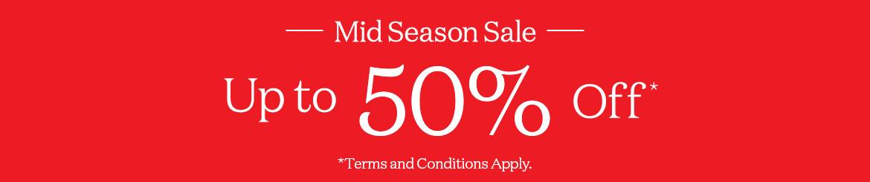 Rockport Mid Season Sale - up to 50% Off