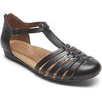 Image of Rockport BLACK GALWAY STRAPPY TOE