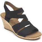 Image of Rockport BLACK BRIAH ASYM WEDGE