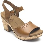 Image of Rockport TAN VIVIANNE 2 PIECE STRAP