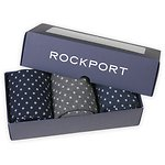 Image of Rockport  MEN'S FLAT KNIT DOT BOXED GIFT SET